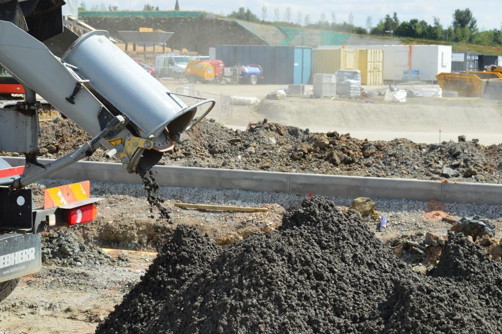 Semi Dry Ready Mixed Concrete Maxileanmix