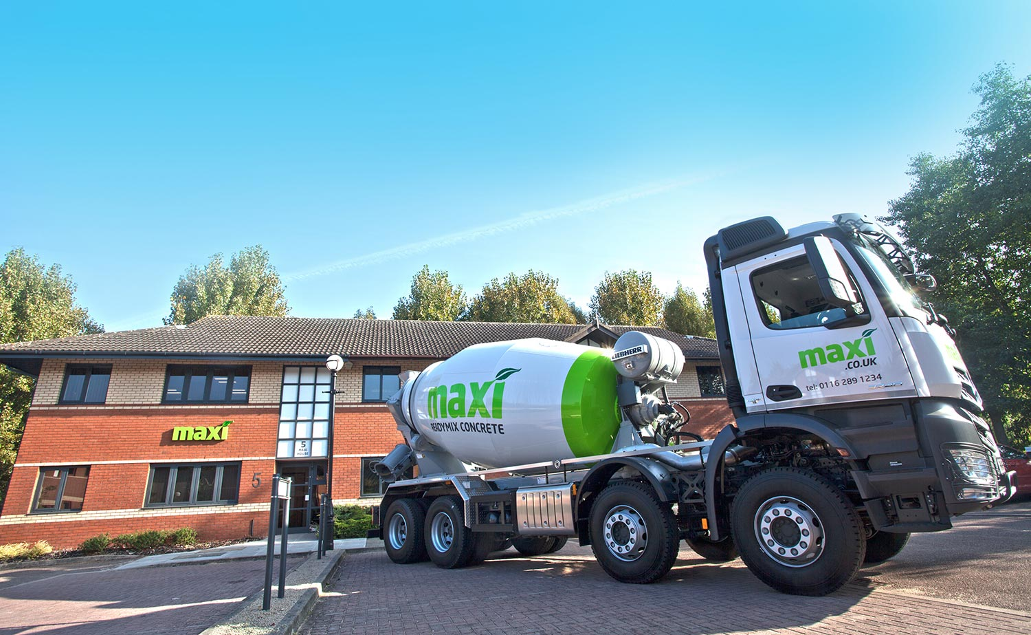 Maxi Concrete Mixer in Leicester