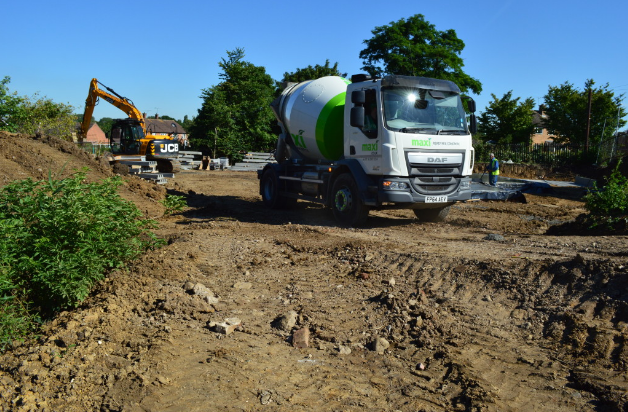 Maxi Minimix for the perfect Concrete Shed Base