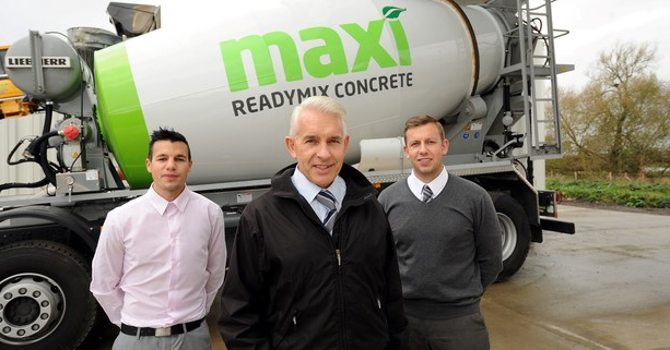 Maxi ReadyMix in the Leicester Mercury