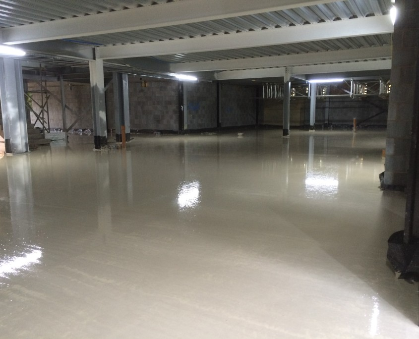 smooth surface concrete finish